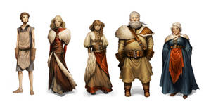 Realm Villagers by Charlie-Bowater