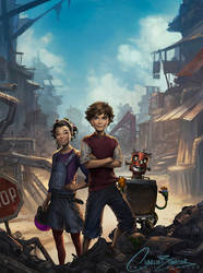 Scrap City by Charlie-Bowater