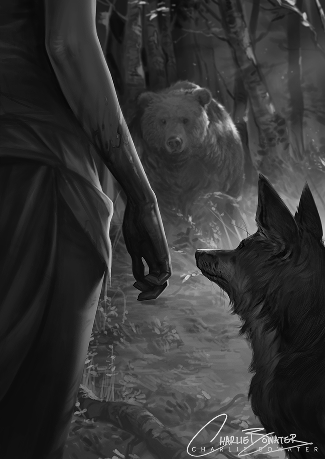 http://orig11.deviantart.net/195b/f/2015/300/a/b/six_gun_snow_white___the_fox_and_the_bear_by_charlie_bowater-d9ejsfd.jpg
