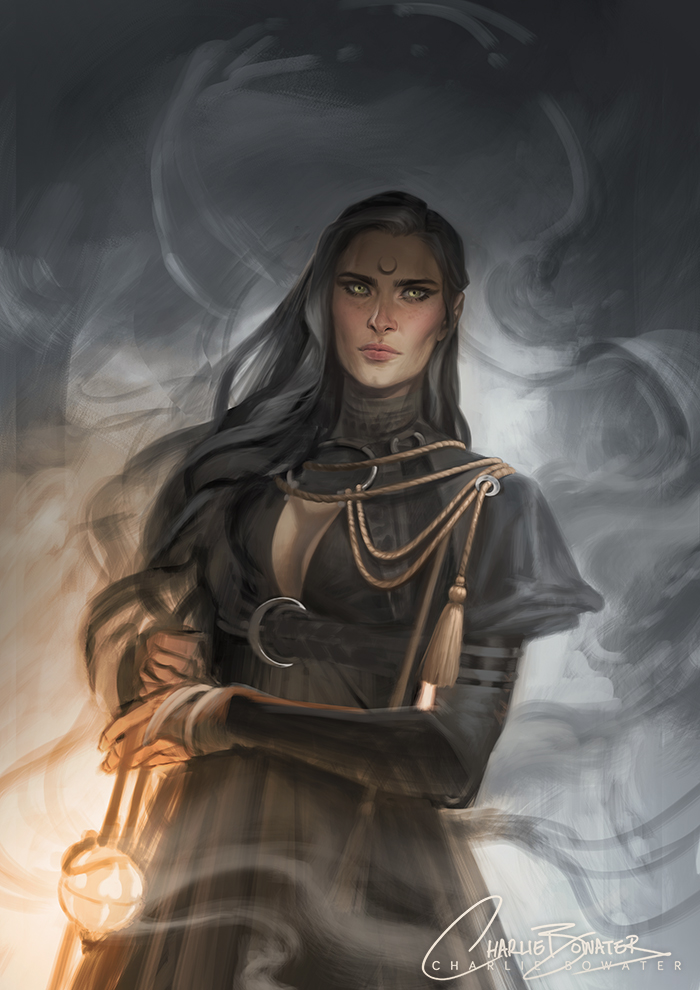 Celestial Sketch by Charlie-Bowater