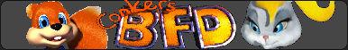 Conker's Bad Fur Day (N64) Fan Button