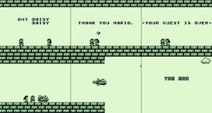 Super Mario Land Meme 1: Happy Ending