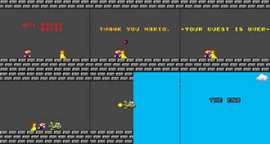 Super Mario Land Meme Recoloured
