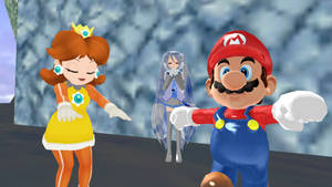 Mario and Daisy are Warming up...
