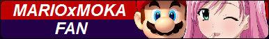 Mario x Moka Fan Button