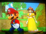 Mario x Daisy: Going for a Walk