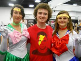 Sailor Moon, Sailor Jupiter and Me