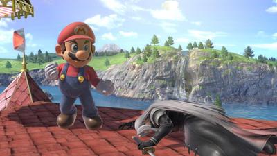 Mario Defeats Sephiroth