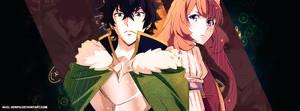 The Shield Hero and Raphtalia by Nael-senpai