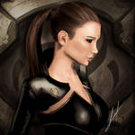 EVE Online - Portrait by Callyste