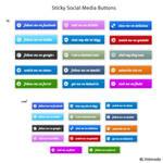 Sticky Social Media Buttons
