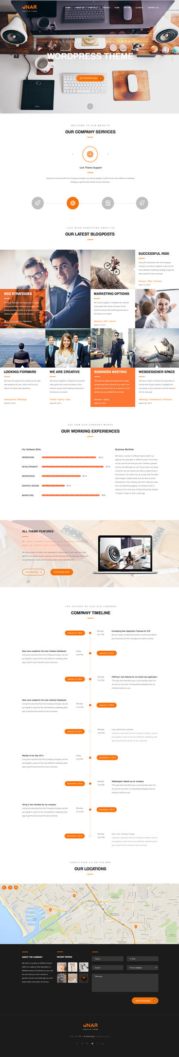 Unar - Multi-Purpose PSD Template by KL-Webmedia