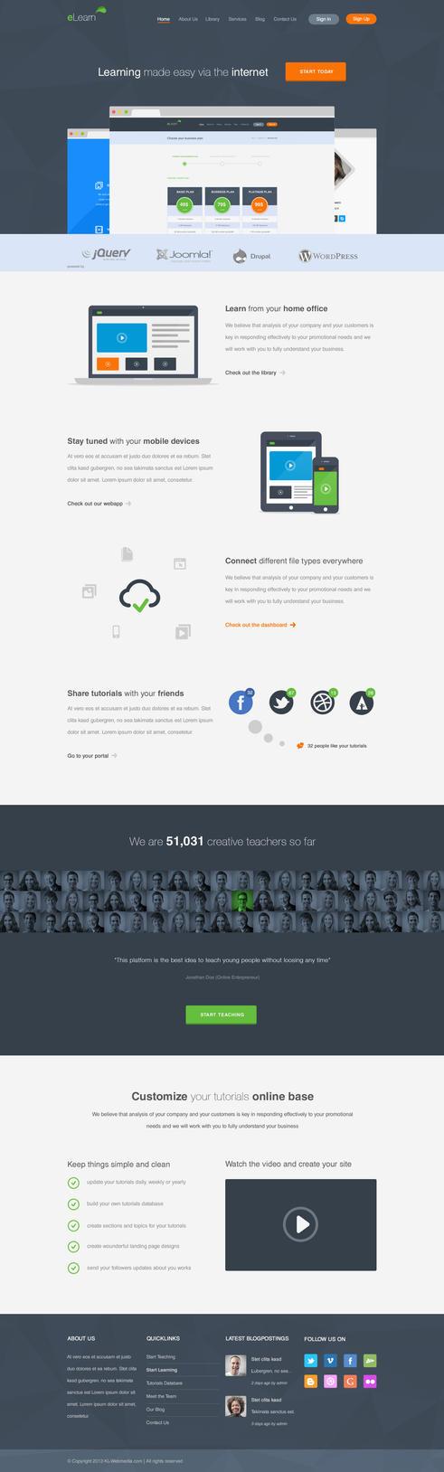 eLearn - Multi-Purpose WordPress Theme by KL-Webmedia