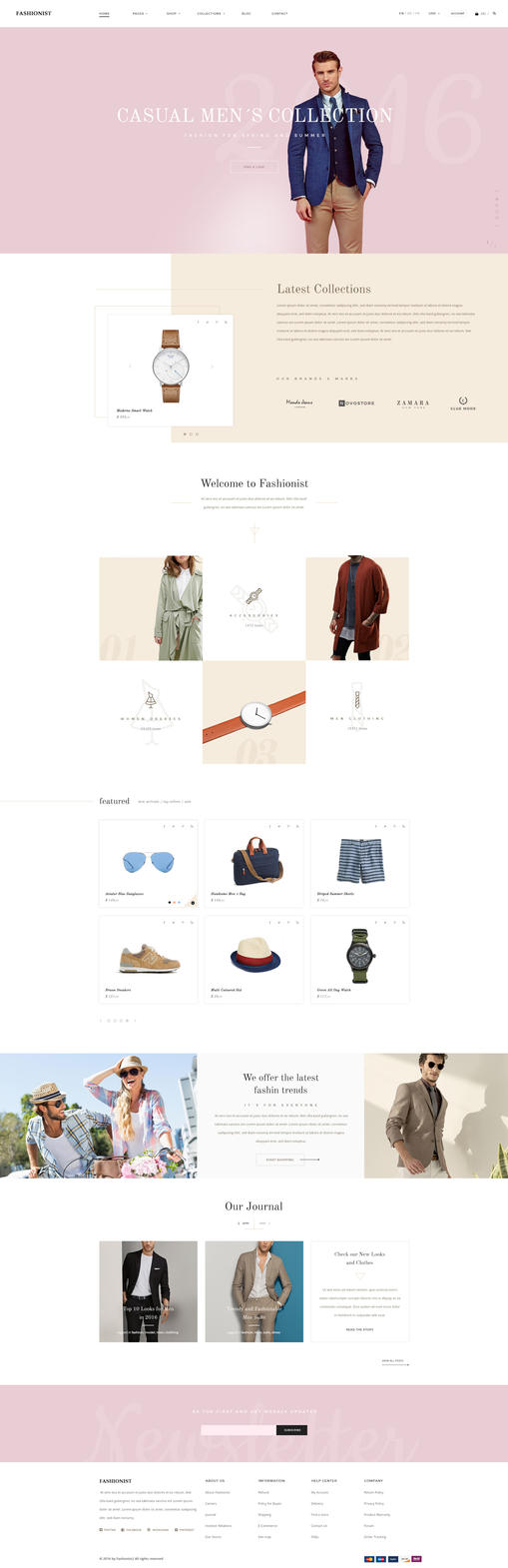 Fashionist - eCommerce Fashion HTML5 Template by KL-Webmedia