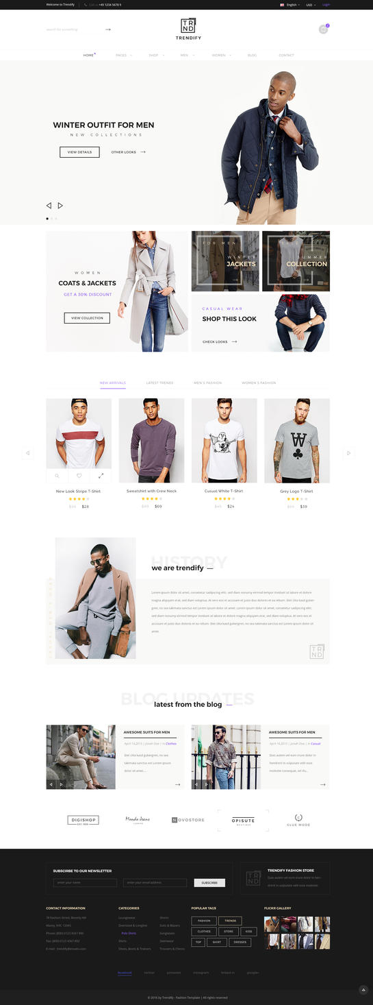Trendify - Fashion eCommerce WordPress Theme by KL-Webmedia