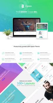 Opton - Multi-Purpose PSD Template