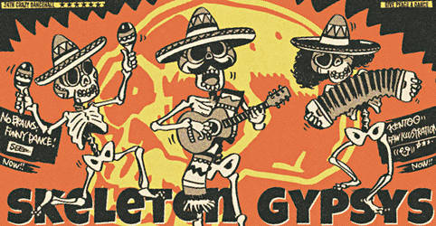Skeleton Gypsys by KENTOO-JPN