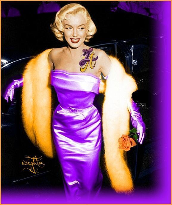 c57d078790e Marilyn Monroe Los Lakers 1.0 {S.Creighton} by SCreighton on DeviantArt