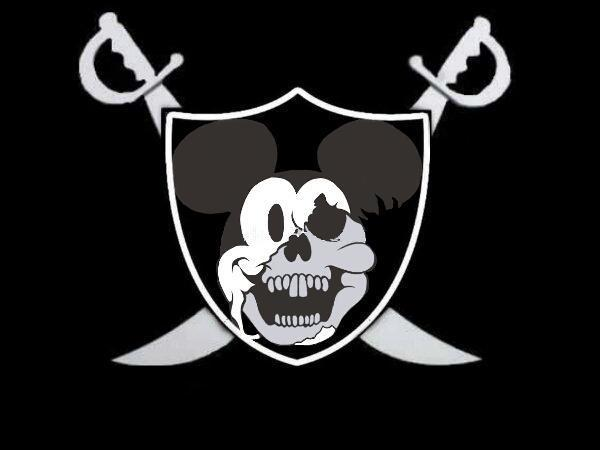 Raiders Logo Vector Mickey Raiders Logo By