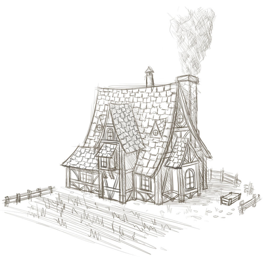 Fantasy house by trinitydigitaldesign on deviantart for Fantasy house plans
