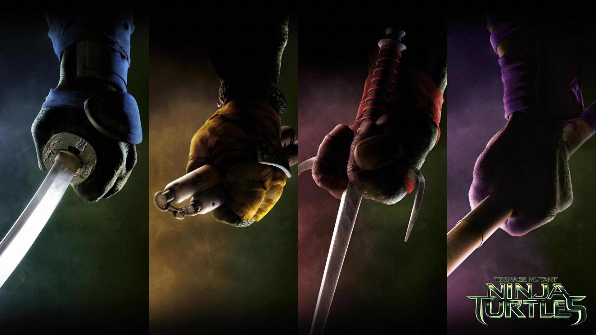 Teenage Mutant Ninja Turtles Movie 2014 Weapons By