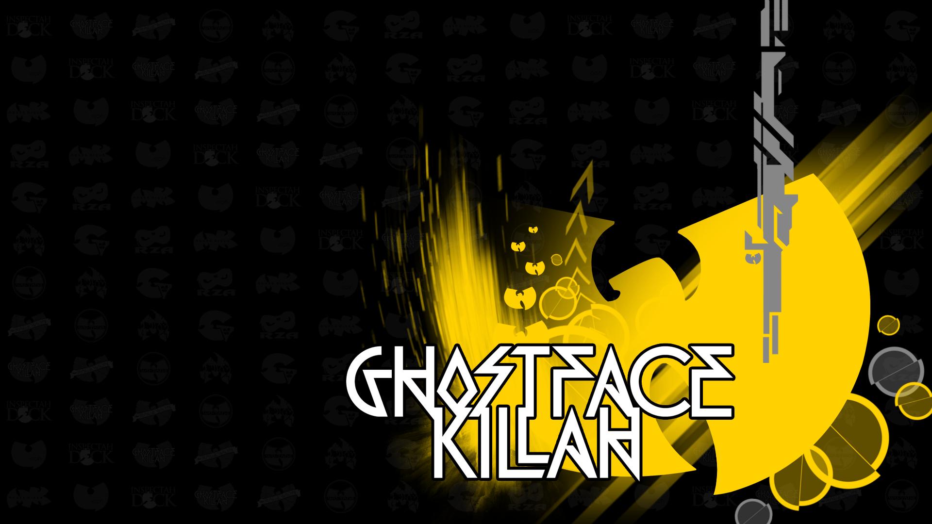 wu tang clan logos ghostface killah by ultrama6net1cart