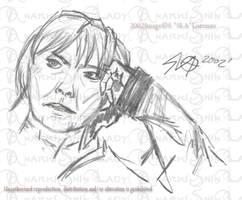 portrait of a Classmate by ShinLadyAnarki