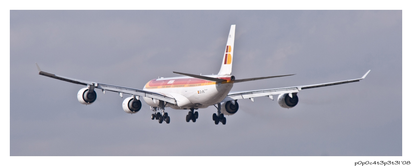 Incoming A340