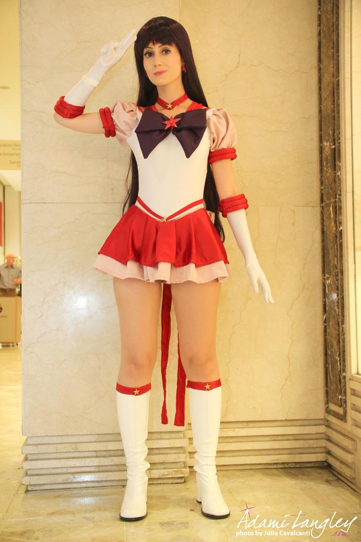 Eternal Sailor Mars Cosplay by adami-langley