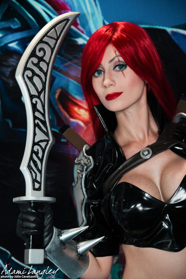 Katarina cosplay Old Splash by adami-langley