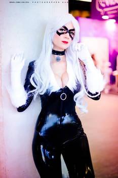 Black Cat cosplay