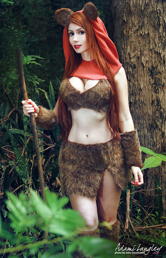 ewok cosplay by adami langley on deviantart