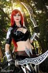 Katarina cosplay Old Splash