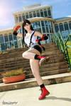 Tifa Lockhart cosplay