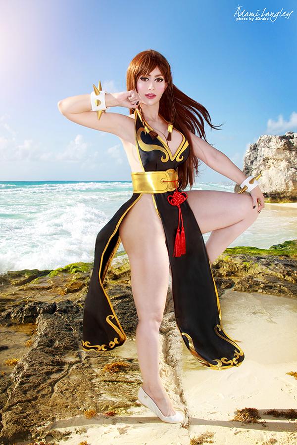 Chun Li Battle Costume Street Fighter V Cosplay By Adami