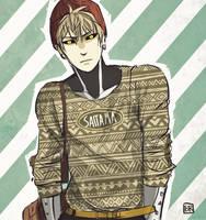 Hipster Genos by Bev-Nap