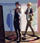 Getting Ready - Promptis (Commission)