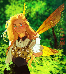 Fairy OC (Commission) by Bev-Nap