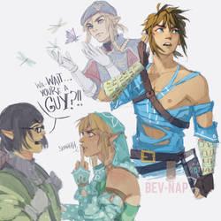 Link, Link and Link by Bev-Nap