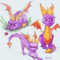 Spyro by Bev-Nap
