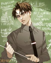Professor Levi (Redraw) by Bev-Nap