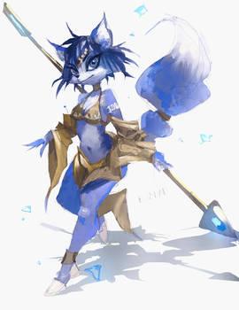 Krystal (alternate outfit)