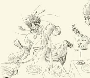 [Obito Uchiha] All You Can Warp [Doodle] by UrashimaKeitaro