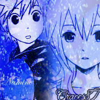 Namine and Roxas Snowfall by Graces87