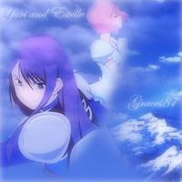 Yuri and Estelle icon by Graces87