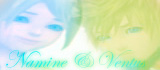 Namine and Ventus Stamp by Graces87