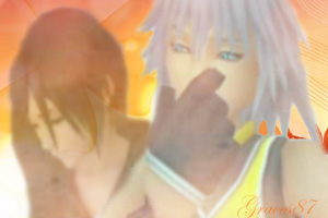 Riku and Xion Shy by Graces87
