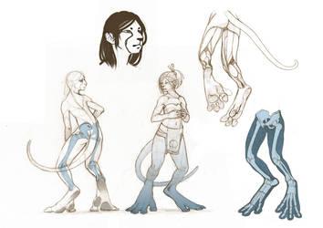 hybride humain by citron-bleu