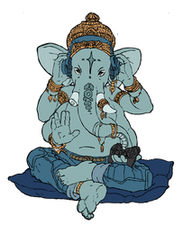 Ganesha by citron-bleu