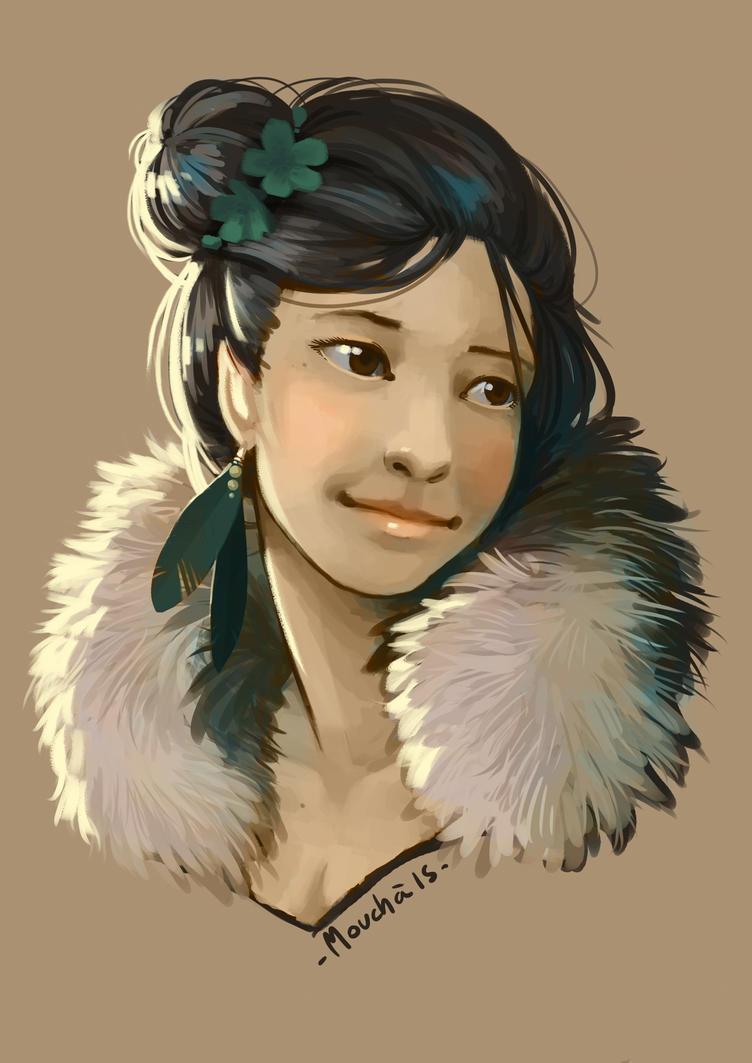 portrait by citron-bleu
